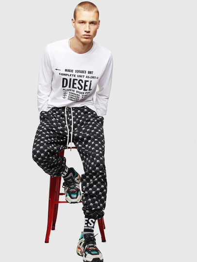 Diesel - T-DIEGO-B6-LONG,  - T-Shirts - Image 4