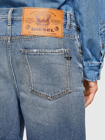 Diesel - D-MACS-SHORT-T-SP, Blu Chiaro - Shorts - Image 5