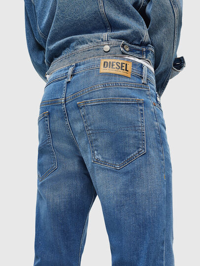 Diesel - Buster 083AX, Blu Chiaro - Jeans - Image 3