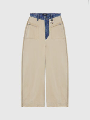 P-ACAY-DT, Beige - Pantaloni
