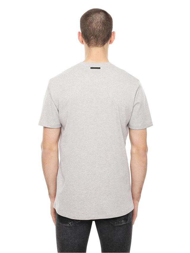 Diesel - TY-SOLDIER, Grigio - T-Shirts - Image 2