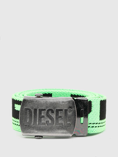 Diesel - BOXXY, Verde Fluo - Cinture - Image 1