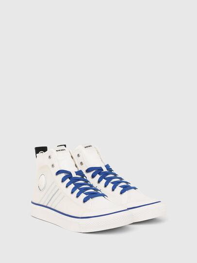 Diesel - S-ASTICO MC H, Bianco/Blu - Sneakers - Image 2