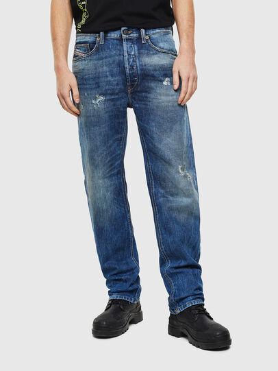 Diesel - D-Macs 0097I, Blu medio - Jeans - Image 1