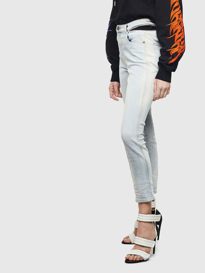 Diesel - Babhila High 009AX, Blu Chiaro - Jeans - Image 6