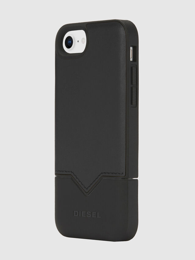 Diesel - CREDIT CARD IPHONE 8/7/6S/6 CASE, Nero - Cover - Image 1