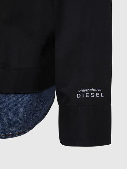 Diesel - S-DUSTIN, Nero - Camicie - Image 5