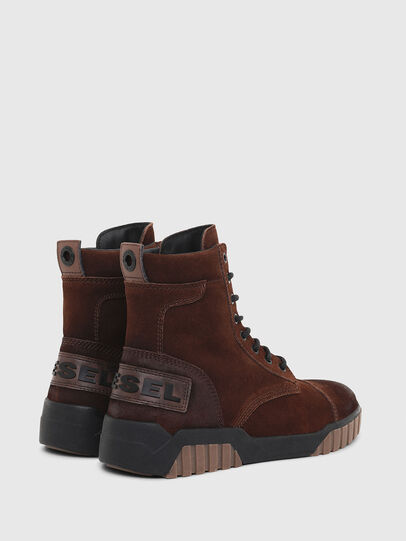 Diesel - H-RUA AM, Marrone - Sneakers - Image 3