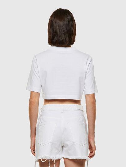 Diesel - T-RECROP, Bianco - T-Shirts - Image 2