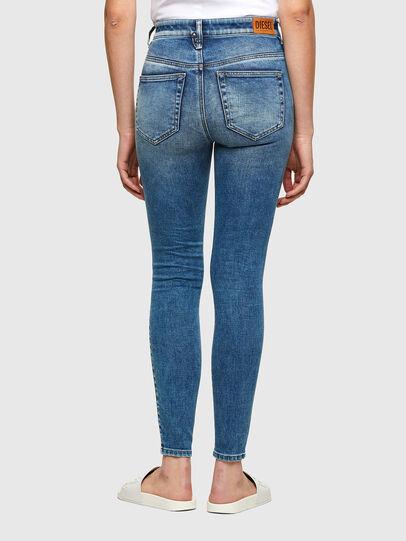 Diesel - Slandy High 009PT, Blu Chiaro - Jeans - Image 2