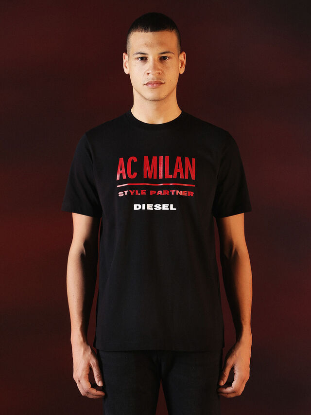 Diesel - DVL-TSHIRT-PRINT-SPECIAL COLLECTION, Nero - T-Shirts - Image 2