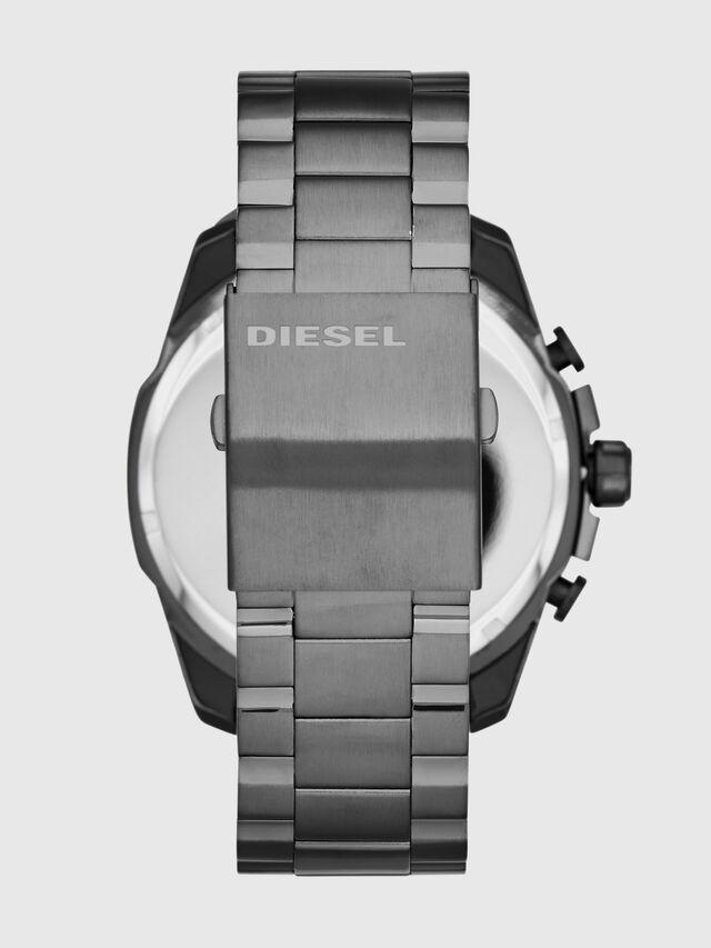 Diesel - DZ4329 MEGA CHIEF, Argento - Orologi - Image 3