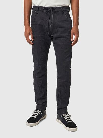 Diesel - Krooley JoggJeans® 069WB, Nero/Grigio scuro - Jeans - Image 1
