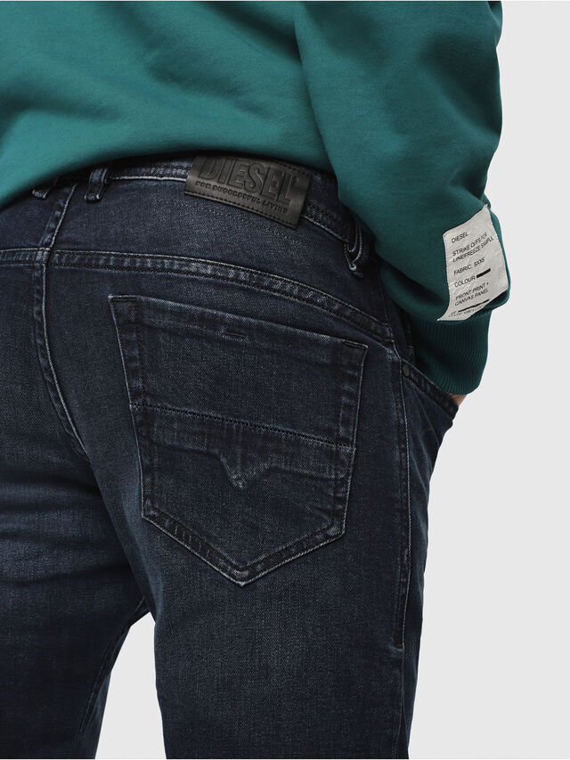 Diesel - Thommer 087AS, Blu Scuro - Jeans - Image 3
