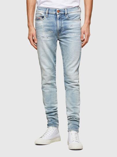 Diesel - D-Reeft JoggJeans® 069UC, Blu Chiaro - Jeans - Image 1