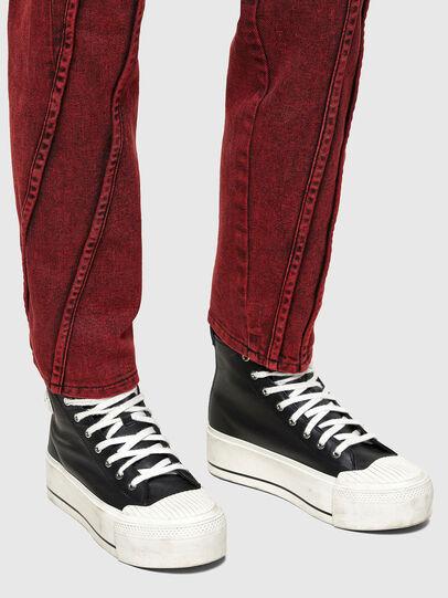 Diesel - D-Joy 009RJ, Rosso - Jeans - Image 4