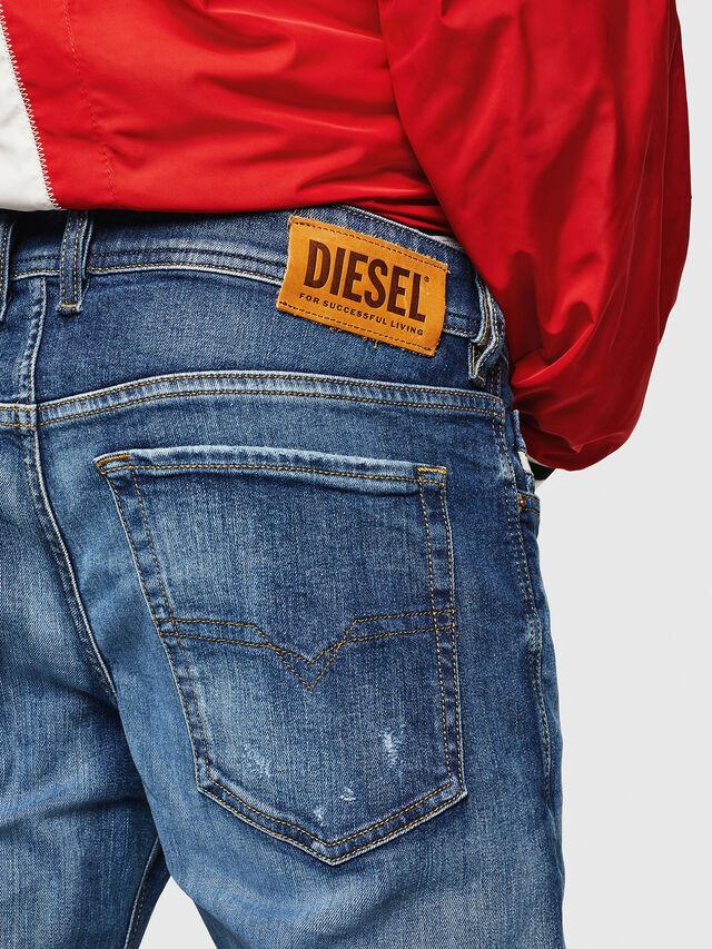 Diesel - Sleenker 069FY, Blu medio - Jeans - Image 4