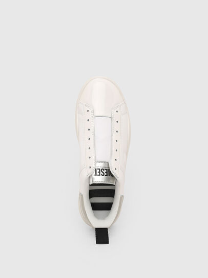 Diesel - S-CLEVER SO W, Bianco/Argento - Sneakers - Image 6