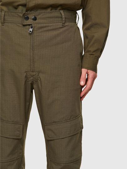 Diesel - P-SIDE, Verde Militare - Pantaloni - Image 3