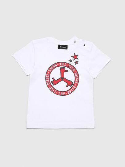 Diesel - TARTB, Bianco - T-shirts e Tops - Image 1