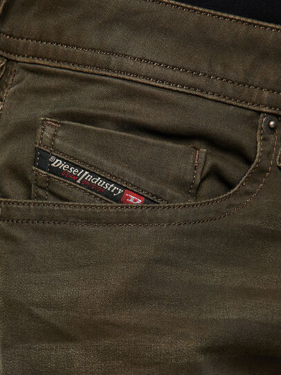 Diesel - Buster 0699P, Verde Militare - Jeans - Image 3