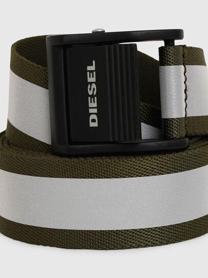 Diesel - B-FIRE, Verde Oliva - Cinture - Image 2