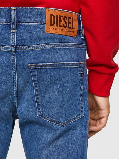 Diesel - D-Fining 09A80, Blu medio - Jeans - Image 4