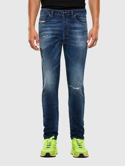Diesel - Thommer JoggJeans 069PL, Blu Scuro - Jeans - Image 1