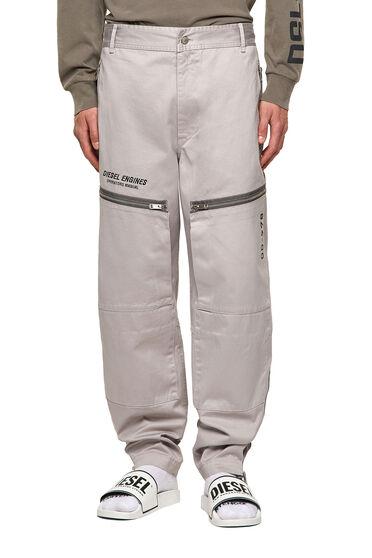 Pantaloni Green Label stile workwear