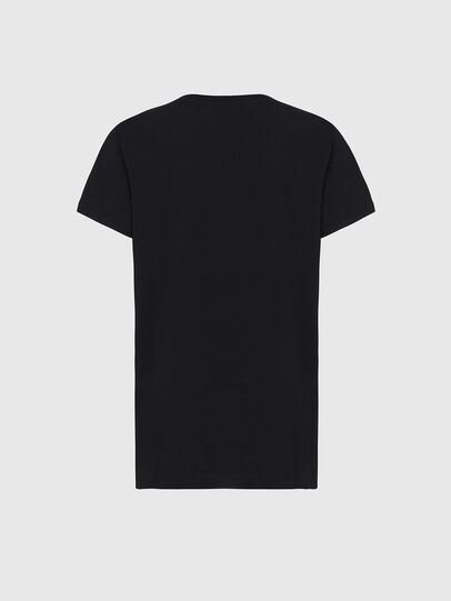 Diesel - T-DARIA-E31, Nero - T-Shirts - Image 2