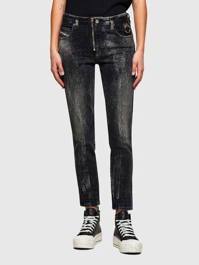 Diesel - Babhila 009PX, Nero/Grigio scuro - Jeans - Image 1