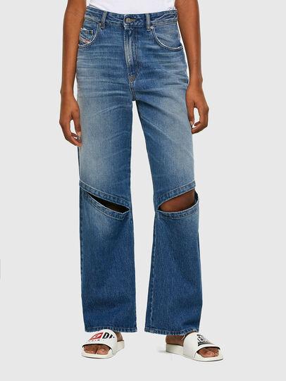 Diesel - D-Reggy 009RK, Blu medio - Jeans - Image 1