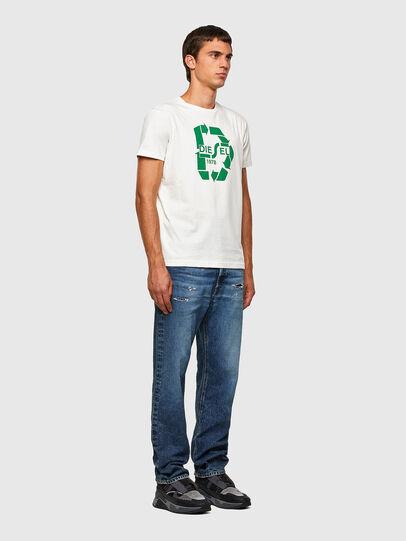 Diesel - T-DIEGOS-N23, Bianco - T-Shirts - Image 4