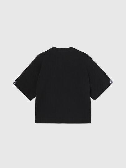 Diesel - UFTEE-SHORTEE, Nero - T-Shirts - Image 2