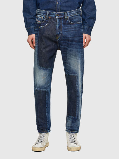 Diesel - D-Vider 009NJ, Blu medio - Jeans - Image 1