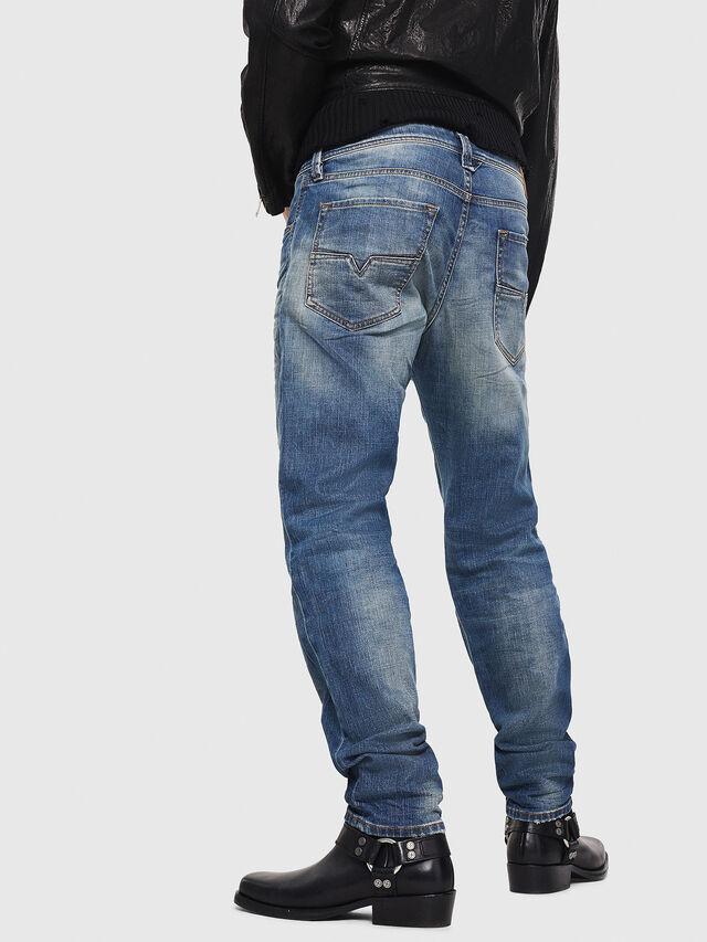 Diesel - Larkee-Beex 089AR, Blu Scuro - Jeans - Image 2