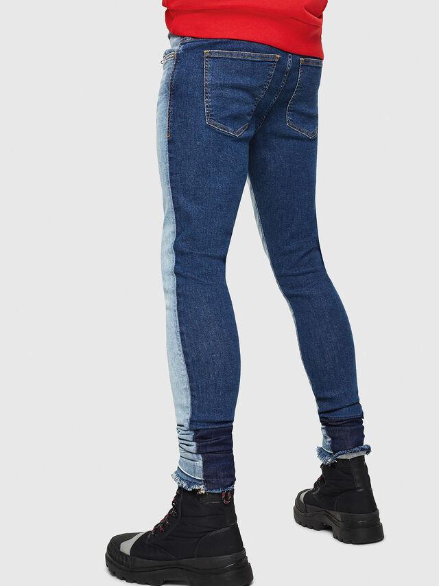 Diesel - D-Istort 085AU, Blu medio - Jeans - Image 3