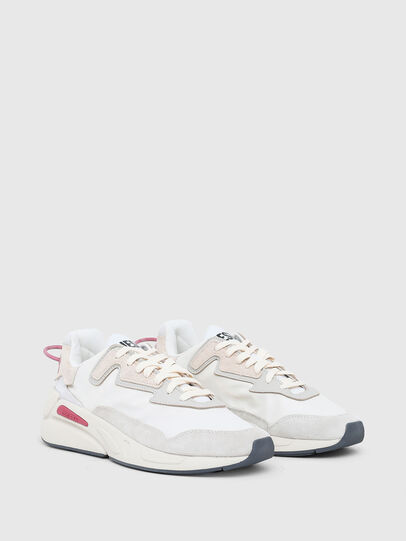 Diesel - S-SERENDIPITY LC W, Bianco/Rosa - Sneakers - Image 2
