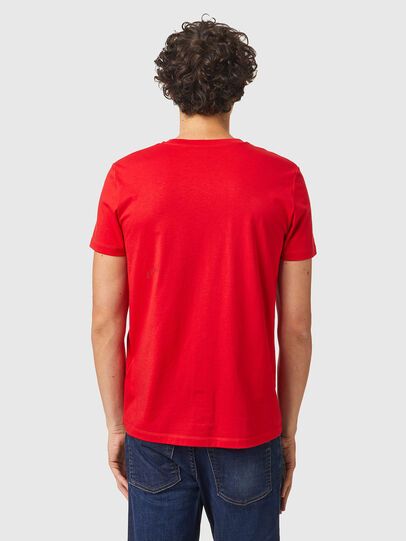 Diesel - T-INY-B2, Rosso - T-Shirts - Image 2