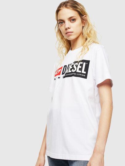 Diesel - T-DIEGO-CUTY, Bianco - T-Shirts - Image 2