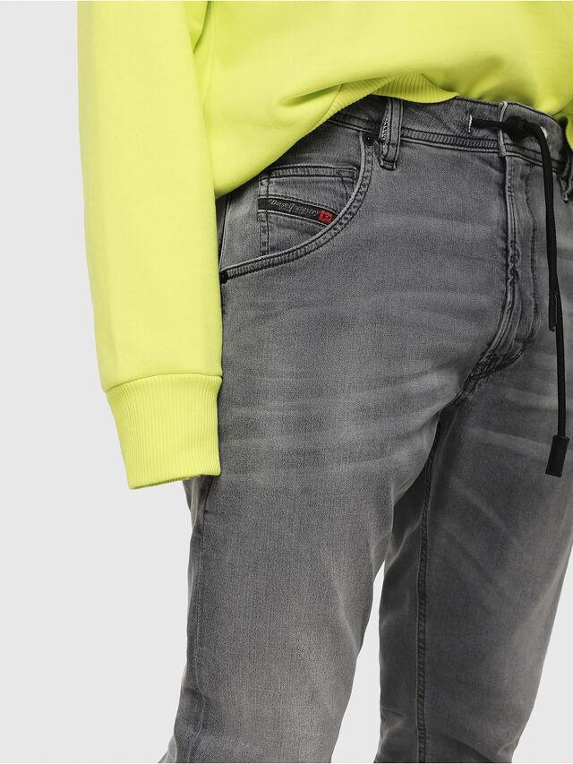 Diesel - Krooley JoggJeans 069EH, Nero/Grigio scuro - Jeans - Image 3