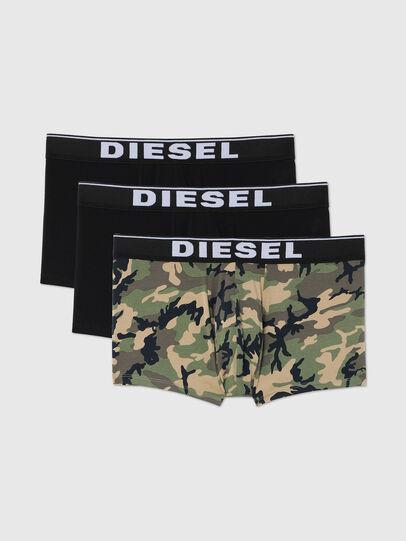 Diesel - UMBX-DAMIENTHREEPACK, Nero/Verde - Boxer - Image 1