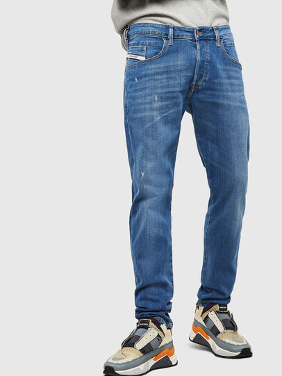 Diesel - D-Bazer 083AX, Blu Chiaro - Jeans - Image 1