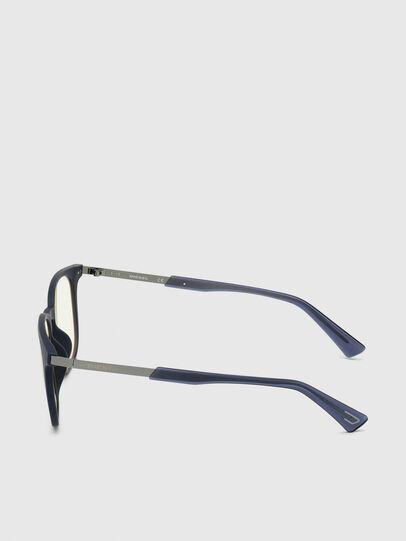 Diesel - DL0311, Blu Scuro - Occhiali da sole - Image 3