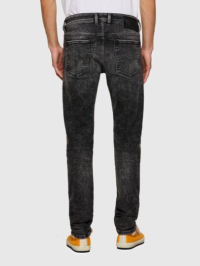 Diesel - Sleenker 09A17, Nero/Grigio scuro - Jeans - Image 2