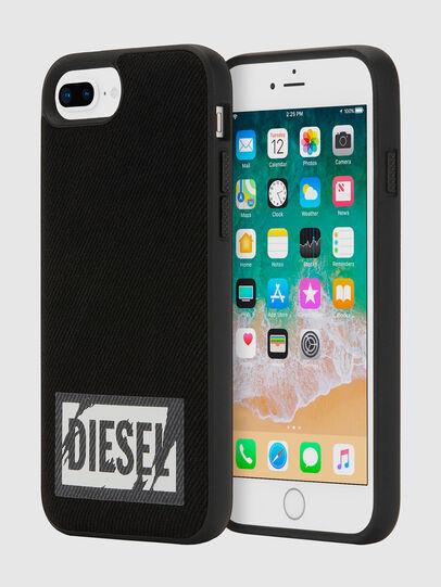 Diesel - BLACK DENIM IPHONE 8 PLUS/7 PLUS/6S PLUS/6 PLUS CASE,  - Cover - Image 1