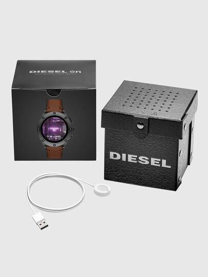 Diesel - DZT2032, Marrone - Smartwatches - Image 5