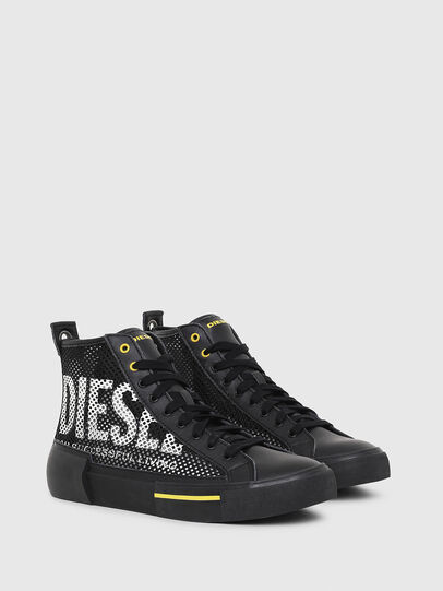 Diesel - S-DESE MID CUT, Nero/Giallo - Sneakers - Image 2