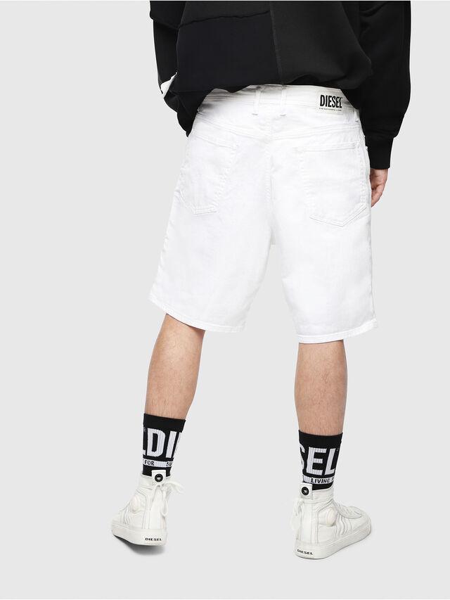 Diesel - D-WILLOH, Bianco - Shorts - Image 2