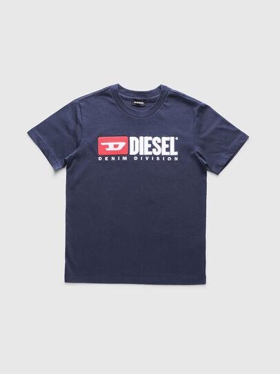Diesel - TJUSTDIVISION, Blu Scuro - T-shirts e Tops - Image 1